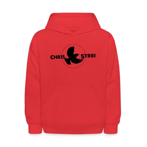 Chris Strei BlackBird Logo (black) - Kids' Hoodie