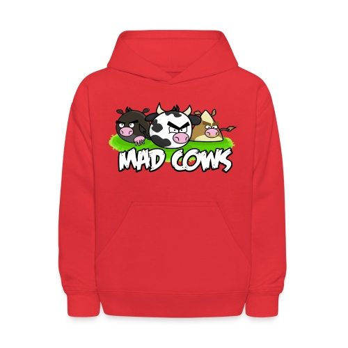 Mad Cows Kids' Long Sleeve - Kids' Hoodie
