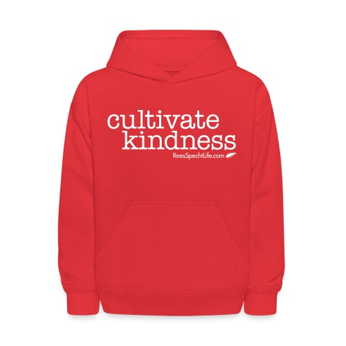 Cultivate Kindness White Logo Women's Shirt - Kids' Hoodie