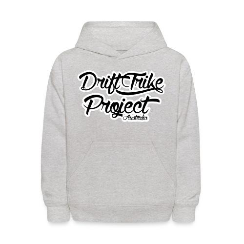 Drift Trike Project Back png - Kids' Hoodie