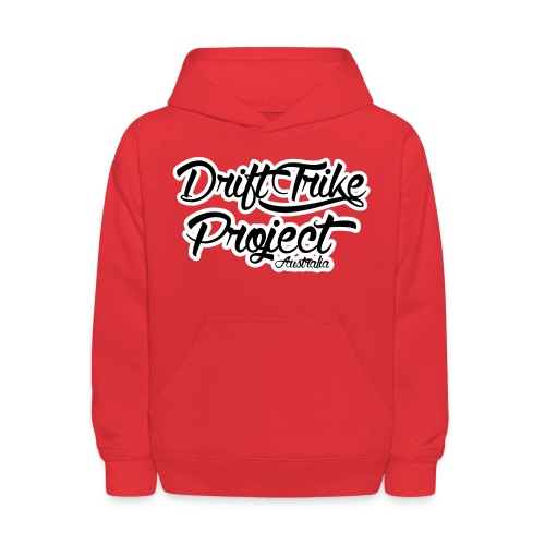 Drift Trike Project Back png - Kids' Hoodie