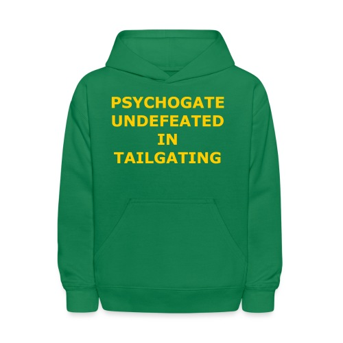 Undefeated In Tailgating - Kids' Hoodie