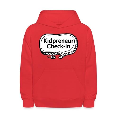 Kidpreneur Check-In Logo - Kids' Hoodie