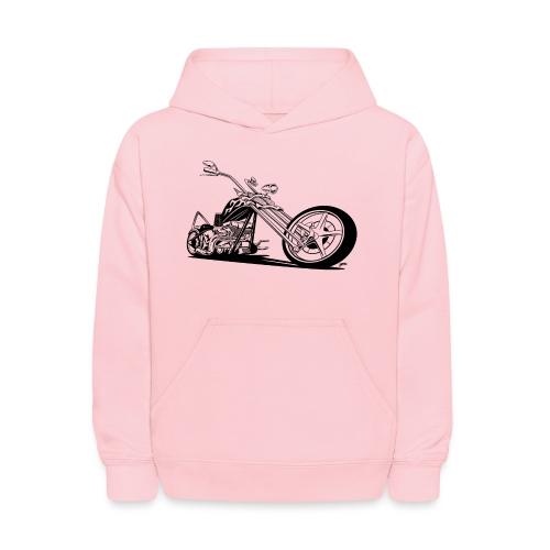 Custom American Chopper Motorcycle - Kids' Hoodie