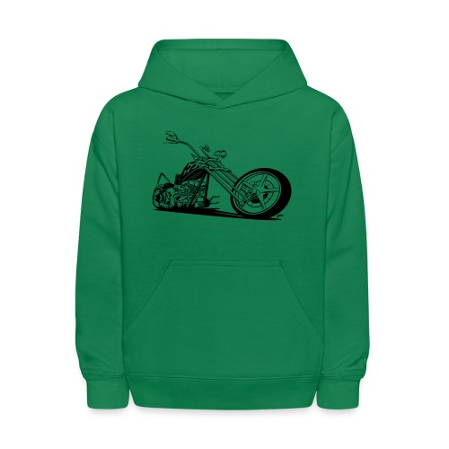 Custom American Chopper Motorcycle - Kids' Hoodie