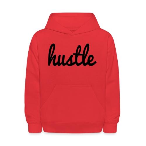 hustle vector - Kids' Hoodie