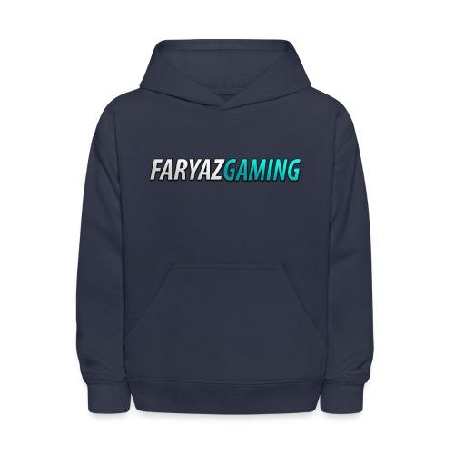 FaryazGaming Theme Text - Kids' Hoodie