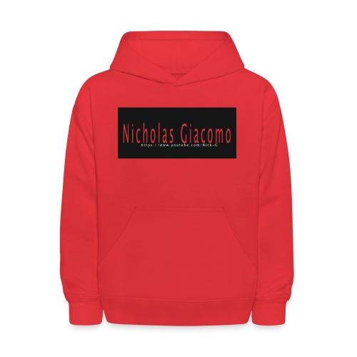 Nick_logo_shirt - Kids' Hoodie