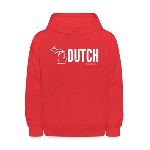 Michigan Dutch (white) - Kids' Hoodie