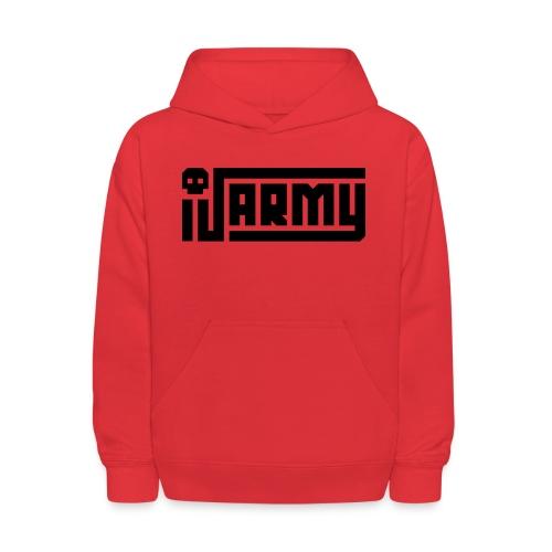 iJustine - iJ Army Logo - Kids' Hoodie