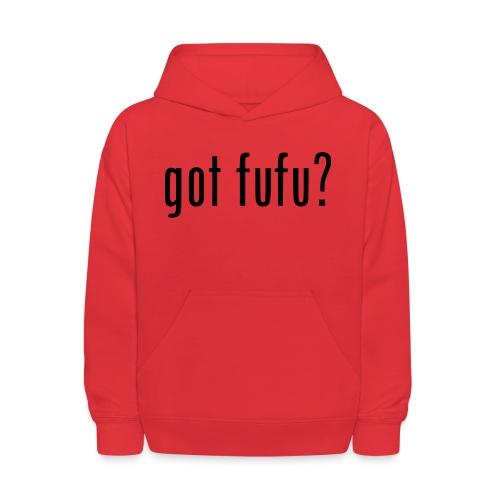 gotfufu-black - Kids' Hoodie