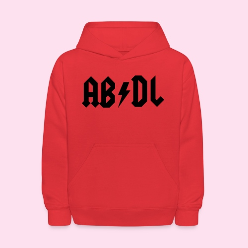 ABDL Rock - Kids' Hoodie