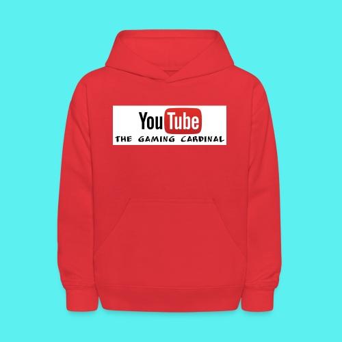 Youtube temp logo - Kids' Hoodie