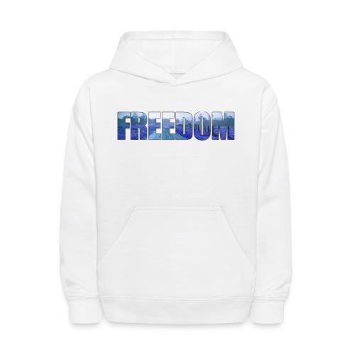 Freedom Photography Style - Kids' Hoodie