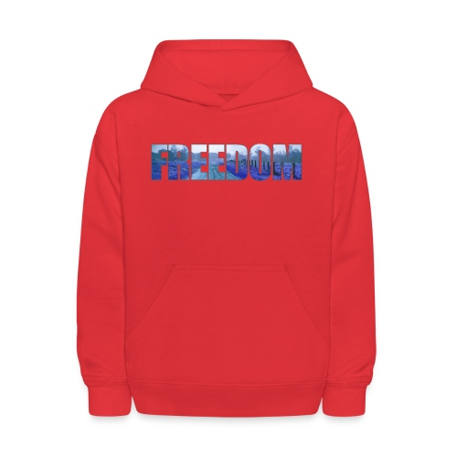 Freedom Photography Style - Kids' Hoodie