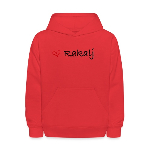 I love Rakalj - Kids' Hoodie
