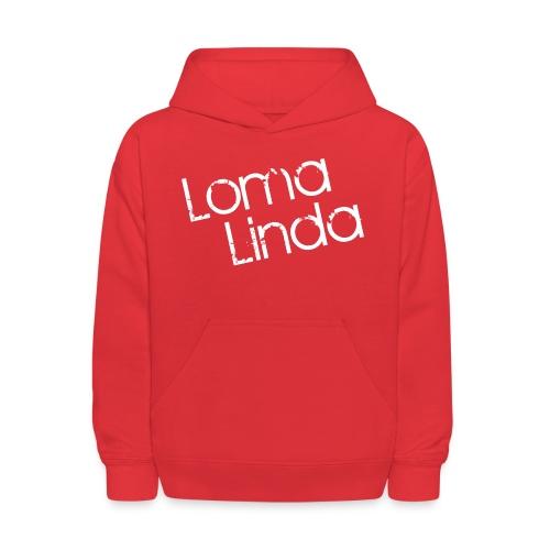 lomalinda white - Kids' Hoodie