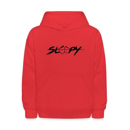 Sleepy Logo Black - Kids' Hoodie