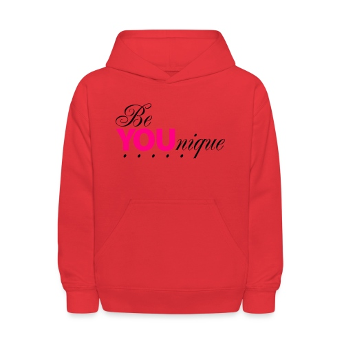 Be Unique Be You Just Be You - Kids' Hoodie