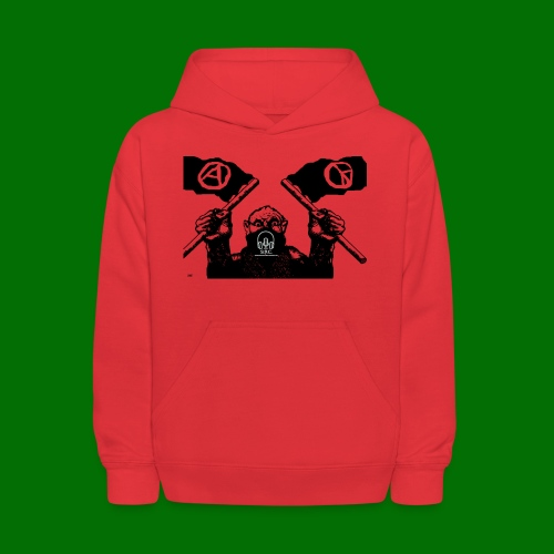 anarchy and peace - Kids' Hoodie