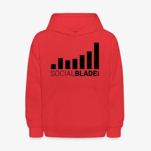 Socialblade (Dark) - Kids' Hoodie