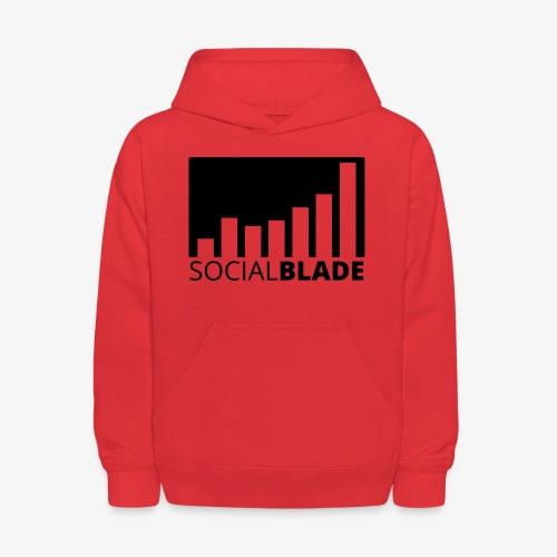 SB Blackout Logo - Kids' Hoodie