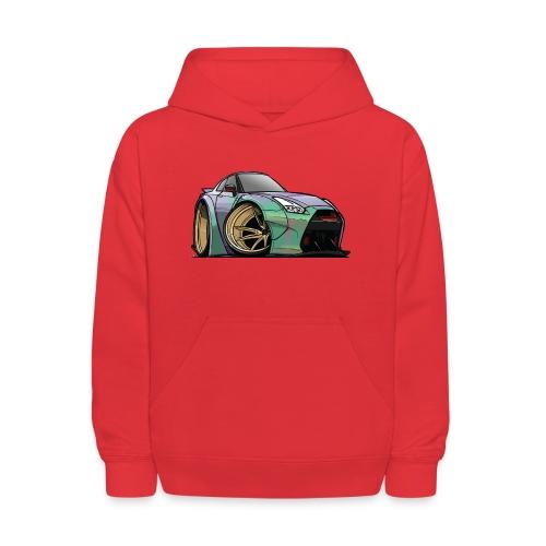 R35 GTR - Kids' Hoodie