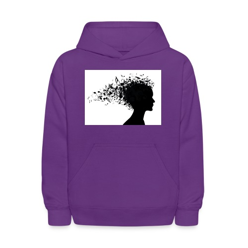 music through my head - Kids' Hoodie