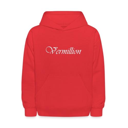 Vermillion T - Kids' Hoodie
