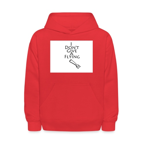 I Don't Give A Flying Fork - Kids' Hoodie