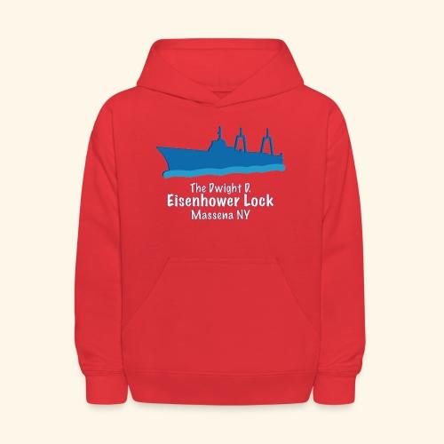 Eisenhower Lock Blue - Kids' Hoodie