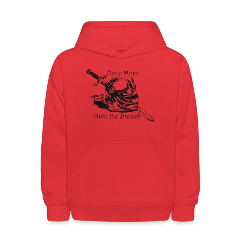 Once More... Unto the Breach Medieval T-shirt - Kids' Hoodie