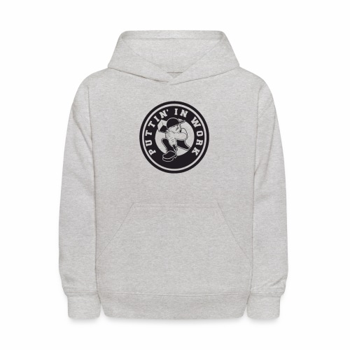 Puttin' In Work Apparel - Kids' Hoodie