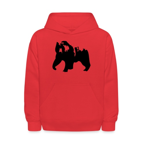 Grizzly bear - Kids' Hoodie
