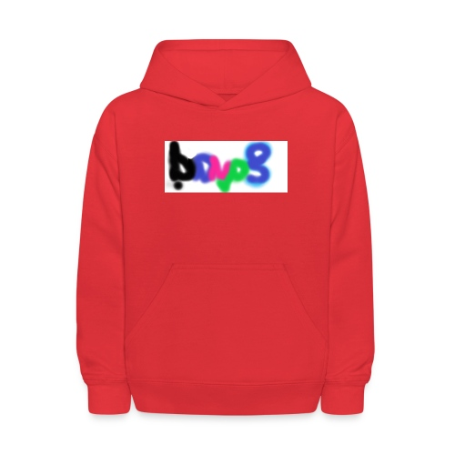 brush the haters off - Kids' Hoodie