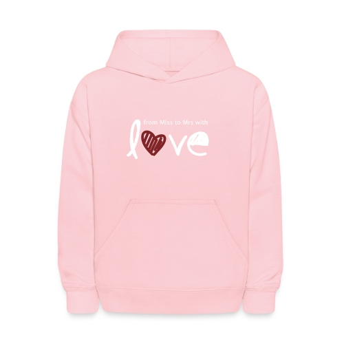 From Miss To Mrs - Kids' Hoodie