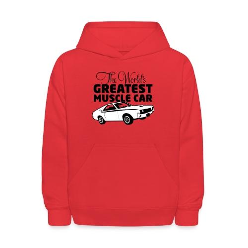 Greatest Muscle Car - Javelin - Kids' Hoodie