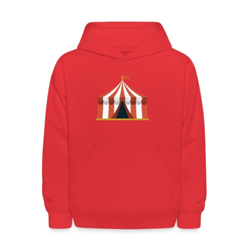Striped Circus Tent - Kids' Hoodie