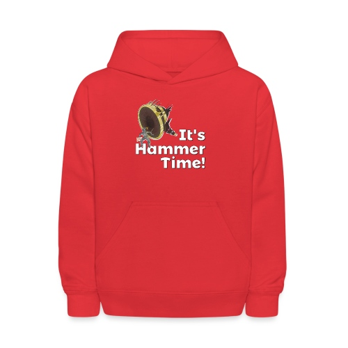 It's Hammer Time - Ban Hammer Variant - Kids' Hoodie