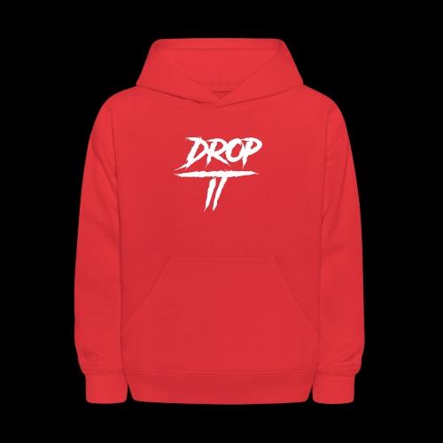 DROP IT Original Logo - Kids' Hoodie