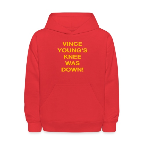 Vince Young's Knee Was Down - Kids' Hoodie