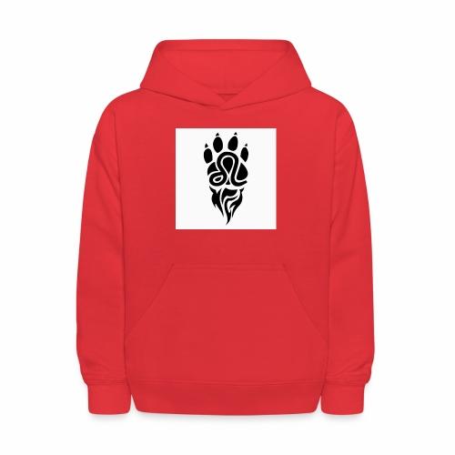 Black Leo Zodiac Sign - Kids' Hoodie