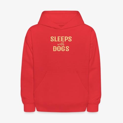 Sleeps With Dogs - Kids' Hoodie