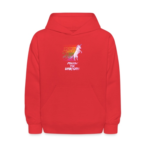 Follow The Unicorn - Kids' Hoodie