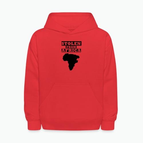 STOLEN FROM AFRICA LOGO - Kids' Hoodie