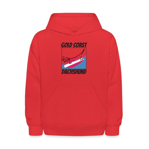 Gold Coast Dachshund - Kids' Hoodie
