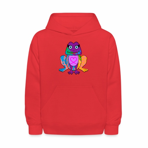 I heart froggy - Kids' Hoodie