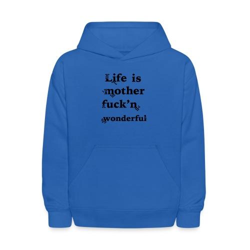 wonderful life - Kids' Hoodie