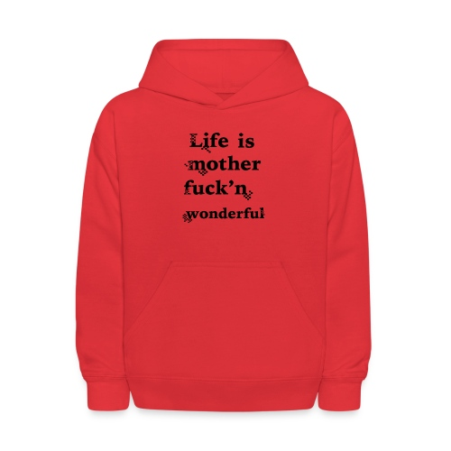 wonderful life - Kids' Hoodie
