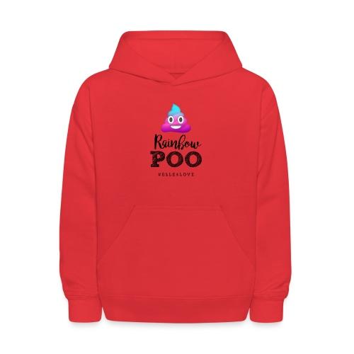 Rainbow Poo - Kids' Hoodie